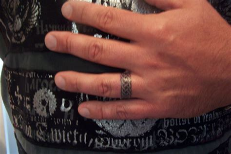 ultra wedding ring tattoos with image of wedding ring