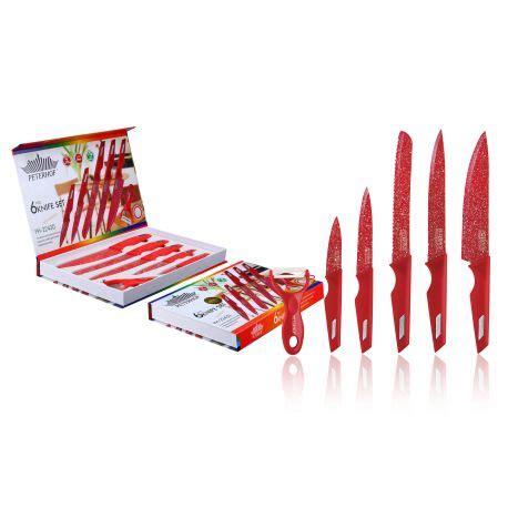 Knife Set 6pcs   PETERHOF   PREMIUM KITCHENWARE