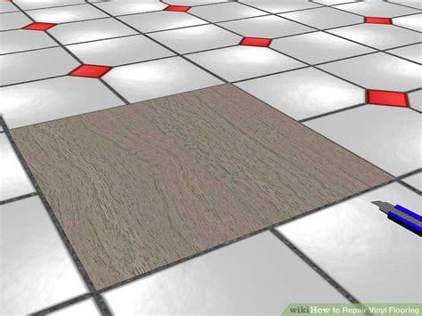 Repair Vinyl Floor 3 Ways To Repair Vinyl Flooring Wikihow