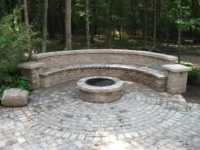 Brick Patio With Fire Pit by Brick Patio With Fire Pit Viewing Gallery