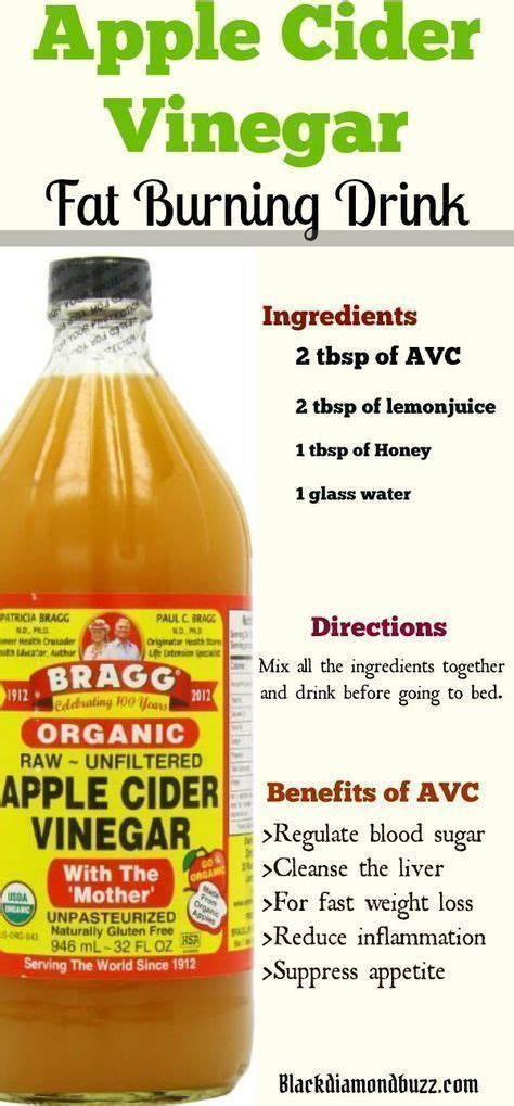 How To Make An Apple Cider Vinegar Detox Drink by Best 25 Vinegar Weight Loss Ideas On Apple