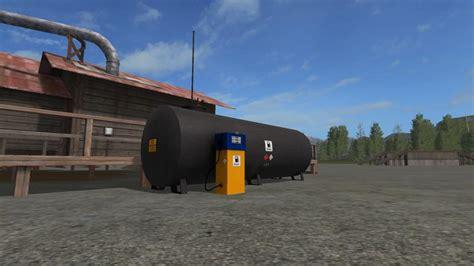 Petroleum Ls by Placeable Gas Station V1 Fs 17 Farming Simulator 2017