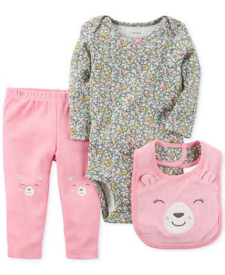 Baby Bears 3 In1shirt2 Pcs Pant s 3 pc bib bodysuit set baby sets baby macy s