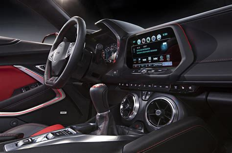 Chevy Camaro Interior by Chevrolet Cars News 2016 Camaro Unveiled Offers 2 0l