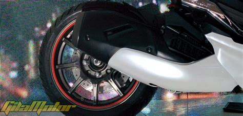 Cover Knalpot Honda Vario 150 modifikasi honda vario 150 esp 2015 inspirasi futuristik gilamotor