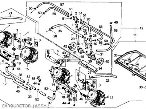 hurricane l parts honda cbr600f hurricane 1990 l usa parts list