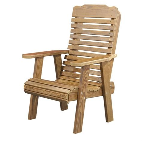 Patio Chairs Wood Stylish Diy Wood Patio Furniture Plans Free