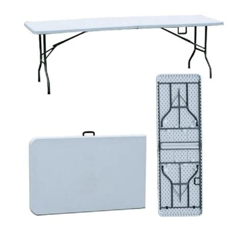 8 Ft Plastic Table by China 8 Foot Plastic Folding Table Fmz240 China