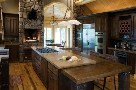 rustic kitchen island ideas 25 ideas to checkout before designing a rustic kitchen