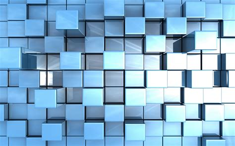 wallpaper blue cube cube wallpapers wallpapersafari