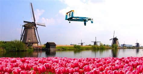 amazon holland amazon ceo jeff bezos zegt bezorgdrones te testen in
