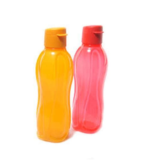 Teaz Me Glass 2 Tupperware tupperware flip top water bottles 750 ml 2 pieces buy at best price in india snapdeal