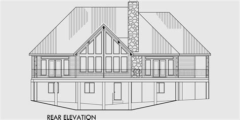 A Frame House Plan Master On The Main Bonus Over Garage A Frame House Plans With Garage