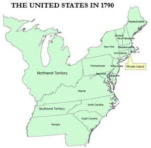 united states 1790 map us history classroom map set
