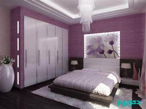 رنگ یاسی در دکوراسیون اتاق خواب دکوراسیون داخلی دکوبوم