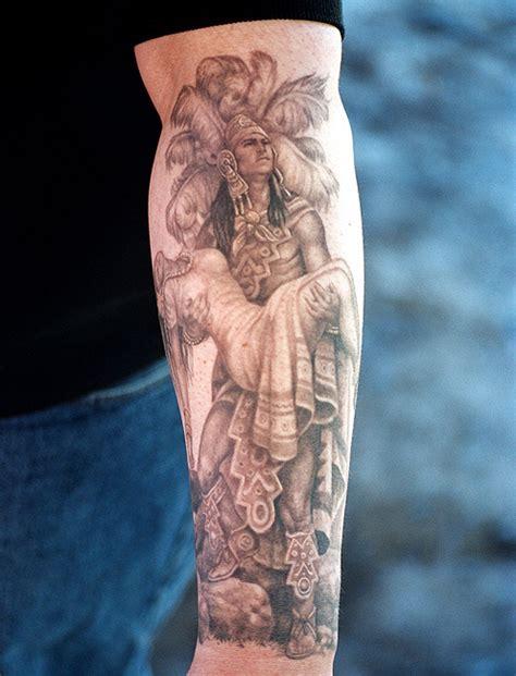 warrior sleeve tattoo designs designs designs aztec warrior