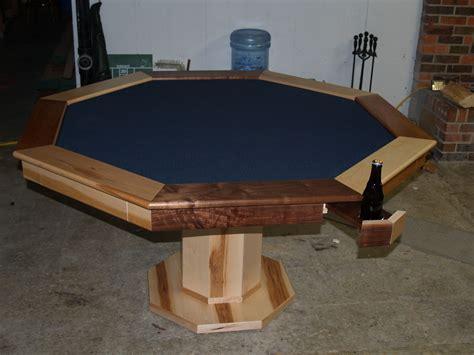 poker table  hiding beverage holder poker table diy