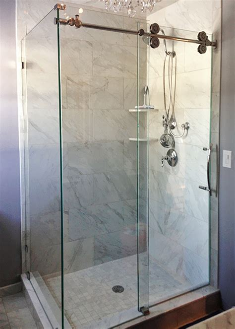 Kinetic Shower Door Kinetic Sliding Doors Manalapan Nj Showerman
