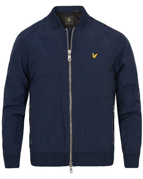 Bomber Scot lyle bomber jacket navy hos careofcarl