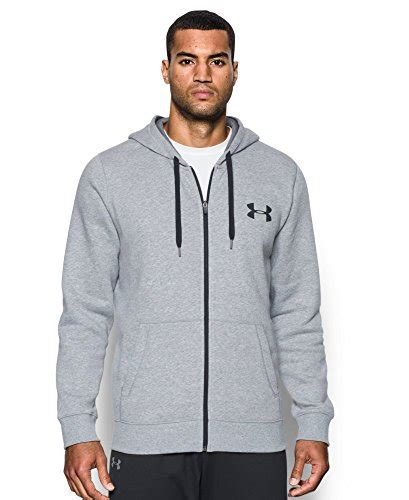 Sweater Hoodie Zipper Armour Athletic armour s rival fleece zip hoodie lifestyle updated