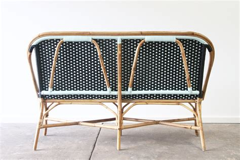 bench seat with table new orleans bench seating rattan commercial furniture