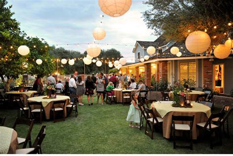 decorating backyard wedding outdoor wedding decoration ideas on a budget wedding and