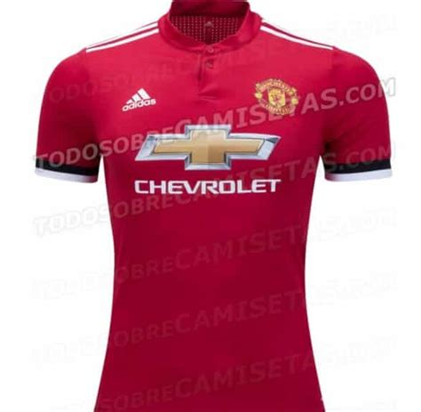 Mu Home New Season 1718 leaked manchester united s home kit for 2017 2018 may 9