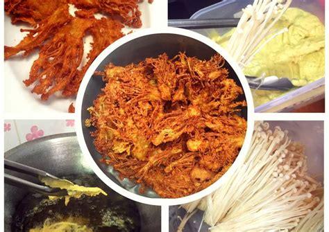 resep jamur enoki goreng krispi oleh sherry cookpad