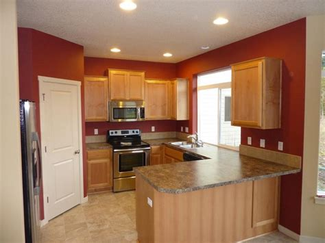 kitchen color idea brown paint color for kitchen accent wall interior