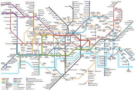 printable maps london london underground map a3 tube train poster print top
