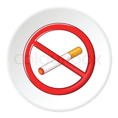 no smoking sign cartoon no smoking sign icon cartoon illustration of no smoking