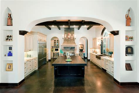 spanish kitchen design spanish kitchen design landscape traditional with arbor