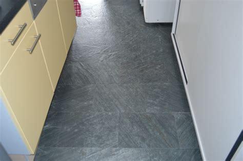 Floating Floor Tile by Black Slate Cork Floating Flooring Cancork