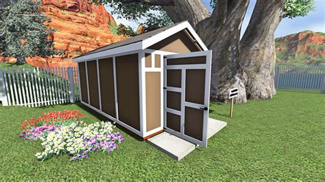 storage shed plan