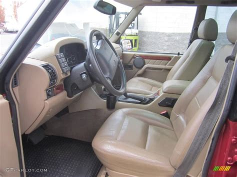 1998 land rover discovery interior bahama beige interior 1998 land rover discovery le photo