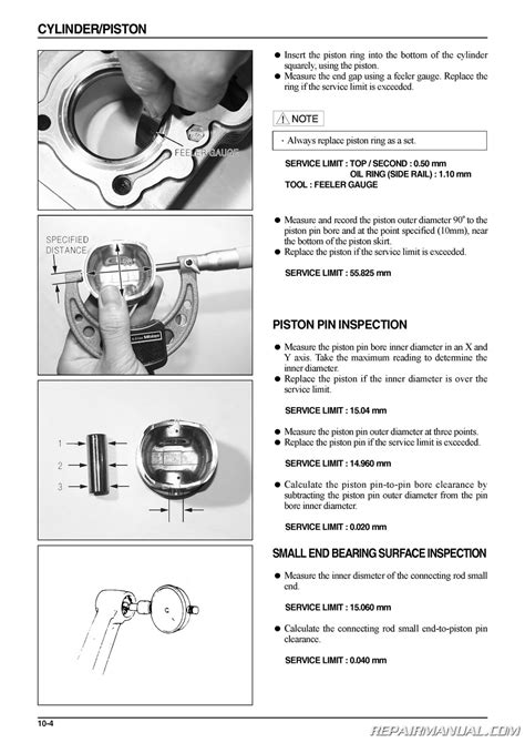 service manual daelim s2 125 scooter service manual