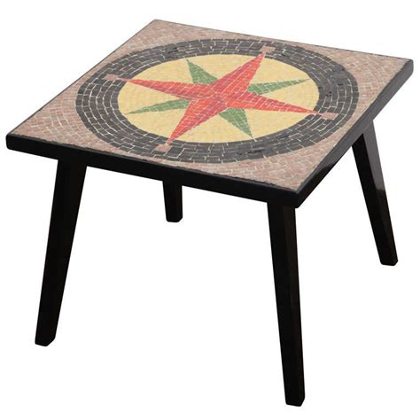 mosaic accent table southern cross 50 s mosaic low accent table for sale at