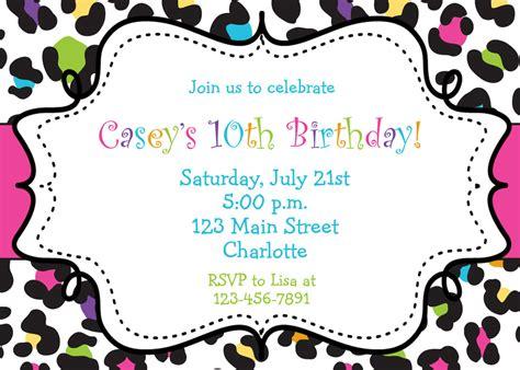 pamper party invites girls birthday photo glitter a6