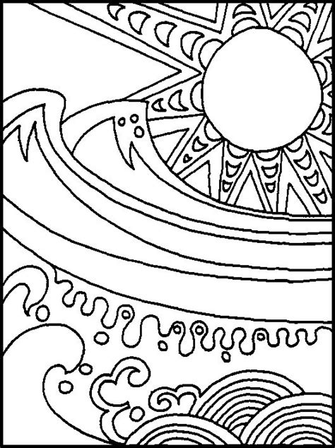virtual coloring pages for adults 94 best images about summer coloring pages on pinterest