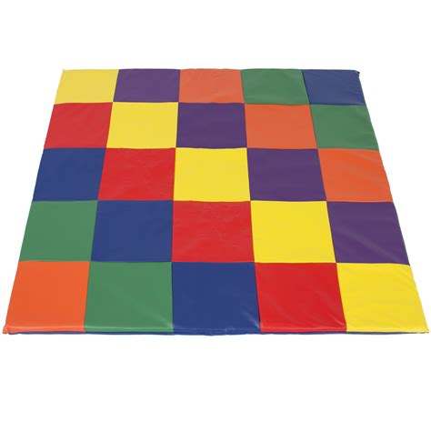 for colored play bcp soft cushioned toddler play mat mutli colored