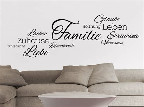 Wandtattoo Wohnzimmer by Wandtattoo Wohnzimmer Wortwolke Elvenbride