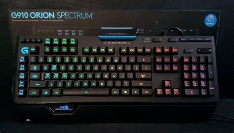 Logitech G910 Spectrum logitech g910 spectrum a new flagship is born