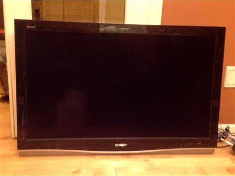 Tv Flat Sharp Aquos 42inch sharp aquos flat screen tv esquimalt view royal