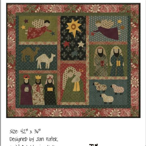 quilt pattern nativity nativity quilt quilts pinterest