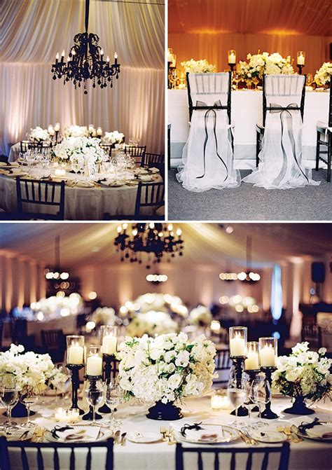 wedding themes black and white picture of awesome ideas for a black and white wedding
