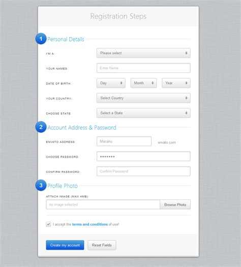 design form inc golden forms responsive css3 form framework by elflaire