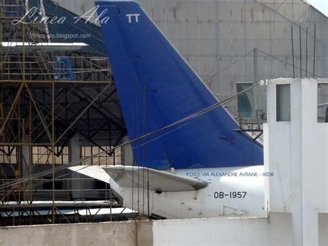 Lv Visto linea ala un boeing 737 236 ex aerol 237 neas argentinas