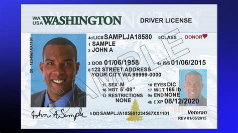 washington state id card template new wa driver license and identification cards
