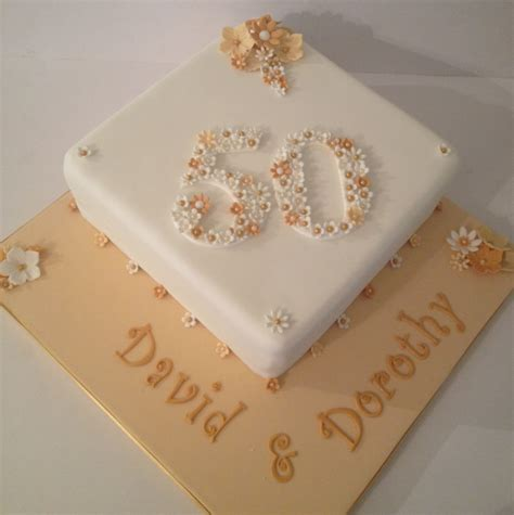 Xmas Decorating Ideas Home Golden Wedding Anniversary Cake