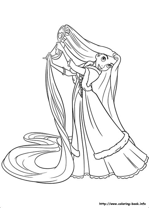 Disney Coloring Pages Rapunzel | disney princess rapunzel tangled coloring pages big